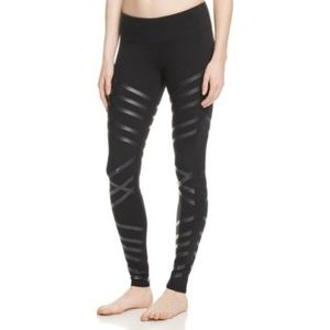 Alo Yoga Black Lineal Leggings